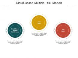 Cloud Based Multiple Risk Models Ppt Powerpoint Presentation Graphics Cpb
