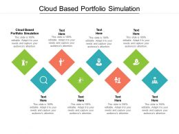 Cloud Based Portfolio Simulation Ppt Powerpoint Presentation Inspiration Styles Cpb