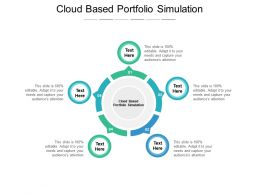 Cloud Based Portfolio Simulation Ppt Powerpoint Presentation Rules Cpb