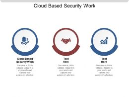 Cloud Based Security Work Ppt Powerpoint Presentation Summary Pictures Cpb