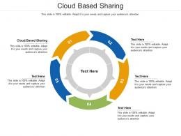 Cloud Based Sharing Ppt Powerpoint Presentation Model Shapes Cpb