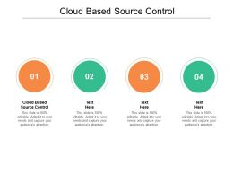 Cloud Based Source Control Ppt Powerpoint Presentation Show Rules Cpb