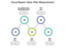 Cloud Based Value Risk Measurement Ppt Powerpoint Presentation File Master Slide Cpb