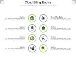 Cloud Billing Engine Ppt Powerpoint Presentation Slides Diagrams Cpb