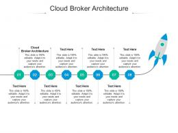 Cloud Broker Architecture Ppt Powerpoint Presentation Outline Inspiration Cpb