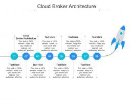 Cloud Broker Architecture Ppt Powerpoint Presentation Outline Show Cpb