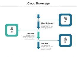 Cloud Brokerage Ppt Powerpoint Presentation Show Model Cpb