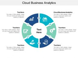 Cloud Business Analytics Ppt Powerpoint Presentation Styles Ideas Cpb