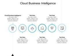 Cloud Business Intelligence Ppt Powerpoint Presentation Rules Cpb
