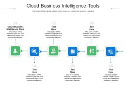 Cloud Business Intelligence Tools Ppt Powerpoint Presentation Infographic Template Master Slide Cpb