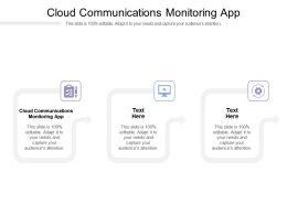 Cloud Communications Monitoring App Ppt Powerpoint Presentation Professional Slide Portrait Cpb