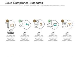 Cloud Compliance Standards Ppt Powerpoint Presentation Styles Deck Cpb
