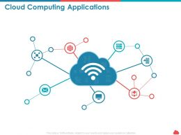 Cloud Computing Applications Technology Ppt Powerpoint Presentation Sample