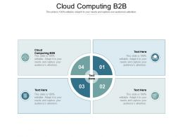 Cloud Computing B2B Ppt Powerpoint Presentation Inspiration Pictures Cpb
