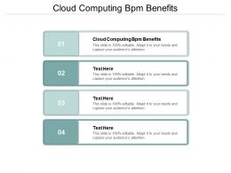 Cloud Computing Bpm Benefits Ppt Powerpoint Presentation Show Infographic Template Cpb