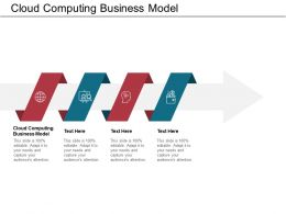 Cloud Computing Business Model Ppt Powerpoint Presentation Portfolio Introduction Cpb
