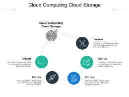 Cloud Computing Cloud Storage Ppt Powerpoint Presentation Professional Layout Ideas Cpb
