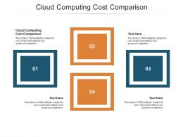 Cloud Computing Cost Comparison Ppt Powerpoint Presentation Inspiration Sample Cpb