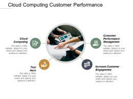 Cloud Computing Customer Performance Management Increase Customer Engagement Cpb