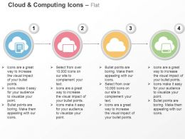 Cloud Computing Data Storage Data Transfer Ppt Icons Graphics