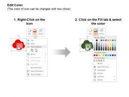 Cloud Computing Data Storage Data Transfer Ppt Icons Graphics