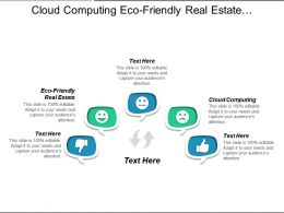 Cloud Computing Eco-Friendly Real Estate Marketing Database Cpb