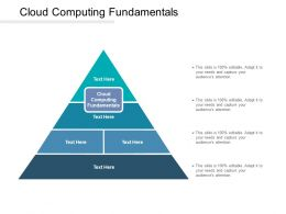 Cloud Computing Fundamentals Ppt Powerpoint Presentation Styles Graphics Cpb