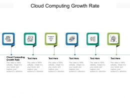 Cloud Computing Growth Rate Ppt Powerpoint Presentation Styles Designs Cpb