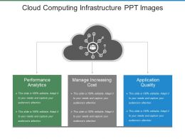 Cloud Computing Infrastructure Ppt Images