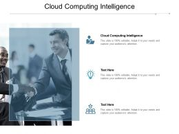 Cloud Computing Intelligence Ppt Powerpoint Presentation Layouts Structure Cpb