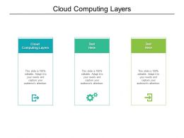 Cloud Computing Layers Ppt Powerpoint Presentation Infographic Template Graphics Cpb