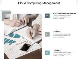 Cloud Computing Management Ppt Powerpoint Presentation Professional Deck Cpb