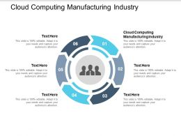 Cloud Computing Manufacturing Industry Ppt Powerpoint Presentation Gallery Cpb