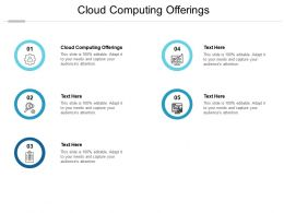 Cloud Computing Offerings Ppt Powerpoint Presentation Infographic Template Infographics Cpb