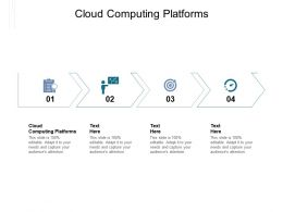 Cloud Computing Platforms Ppt Powerpoint Presentation Inspiration Designs Download Cpb