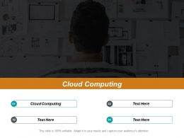 Cloud Computing Ppt Powerpoint Presentation File Portfolio Cpb