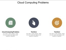 Cloud Computing Problems Ppt Powerpoint Presentation Infographic Template Template Cpb