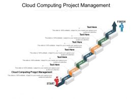 Cloud Computing Project Management Ppt Powerpoint Presentation File Graphic Images Cpb