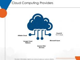 Cloud Computing Providers Cloud Computing Ppt Icons
