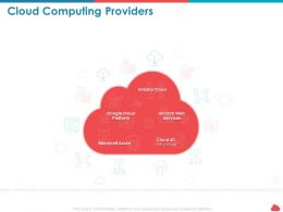Cloud Computing Providers Microsoft Azure Ppt Powerpoint Presentation Shapes