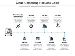 Cloud Computing Reduces Costs Ppt Powerpoint Presentation Styles Sample Cpb