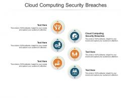 Cloud Computing Security Breaches Ppt Powerpoint Presentation Portfolio Maker Cpb
