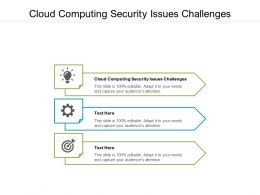 Cloud Computing Security Issues Challenges Ppt Powerpoint Presentation Gallery Images Cpb