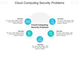 Cloud Computing Security Problems Ppt Powerpoint Presentation Show Demonstration Cpb