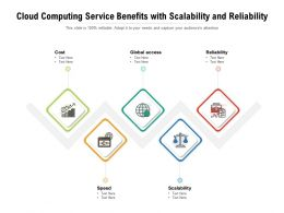 Cloud Computing Service Benefits With Scalability And Reliability