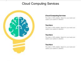 Cloud Computing Services Ppt Powerpoint Presentation Gallery Aids Cpb