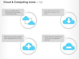 Cloud Computing Technology Data Transfer Ppt Icons Graphics
