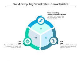 Cloud Computing Virtualization Characteristics Ppt Powerpoint Presentation Show Maker Cpb