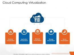Cloud Computing Virtualization Cloud Computing Ppt Professional