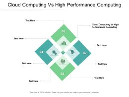 Cloud Computing Vs High Performance Computing Ppt Powerpoint Presentation Clipart Cpb